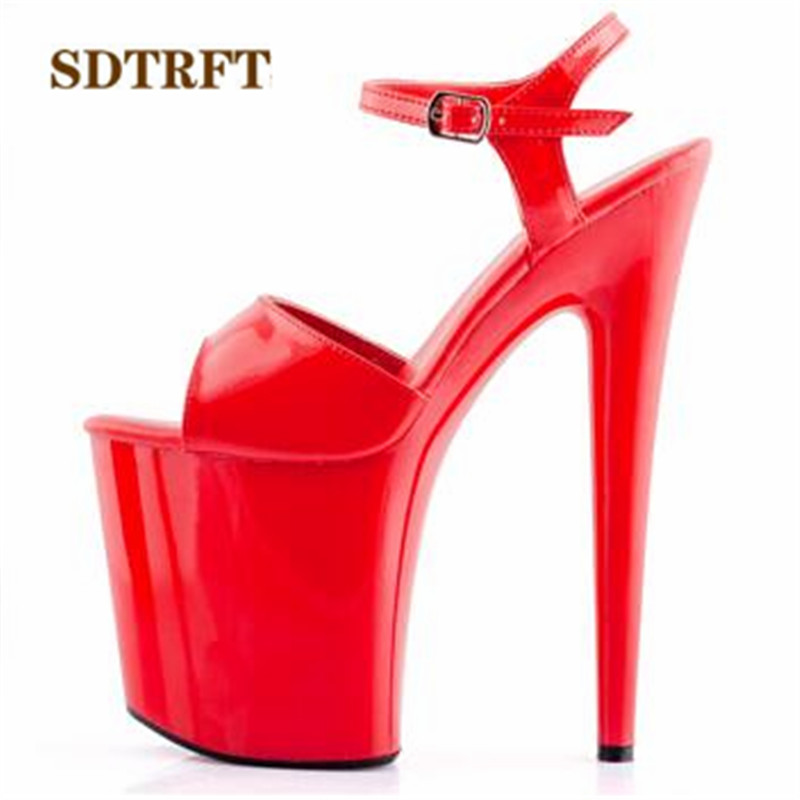 Kupit Zhenshiny Obuv Sdtrft 34 44 Fashion Crossdresser Buckle