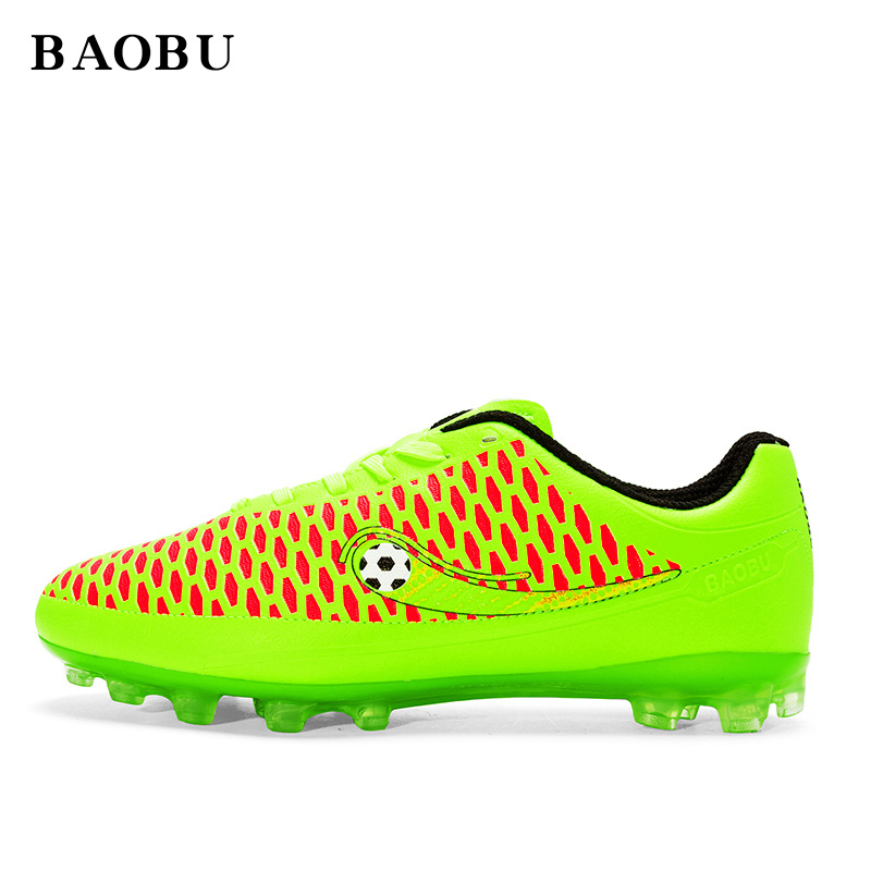 BaoBu Professional AG Soles Soccer Cleats Outdoor Soccer