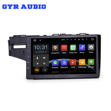 Android 5.1 Car dvd GPS stereo radio for honda fit 2014 2015 with Quad core 10.2″ 1024*600 WIFI Bluetooth Mirror Link SAT