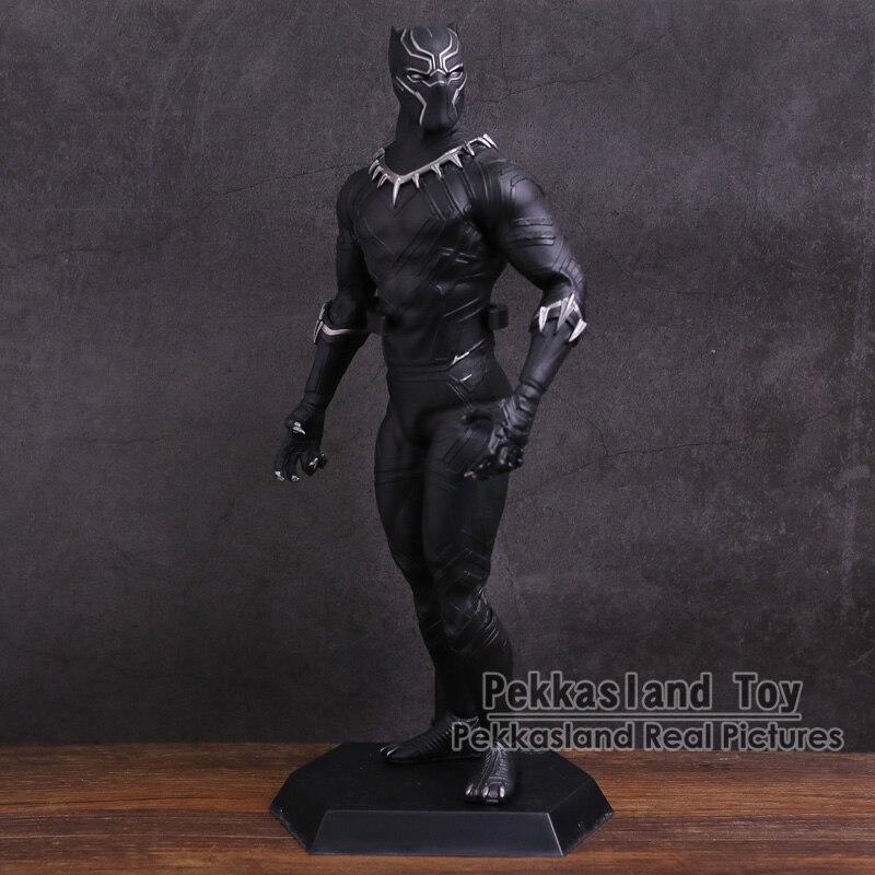 Pazzesco Giocattoli Black Panther 1/6 Scale PVC Figure Da Collezione Model Toy