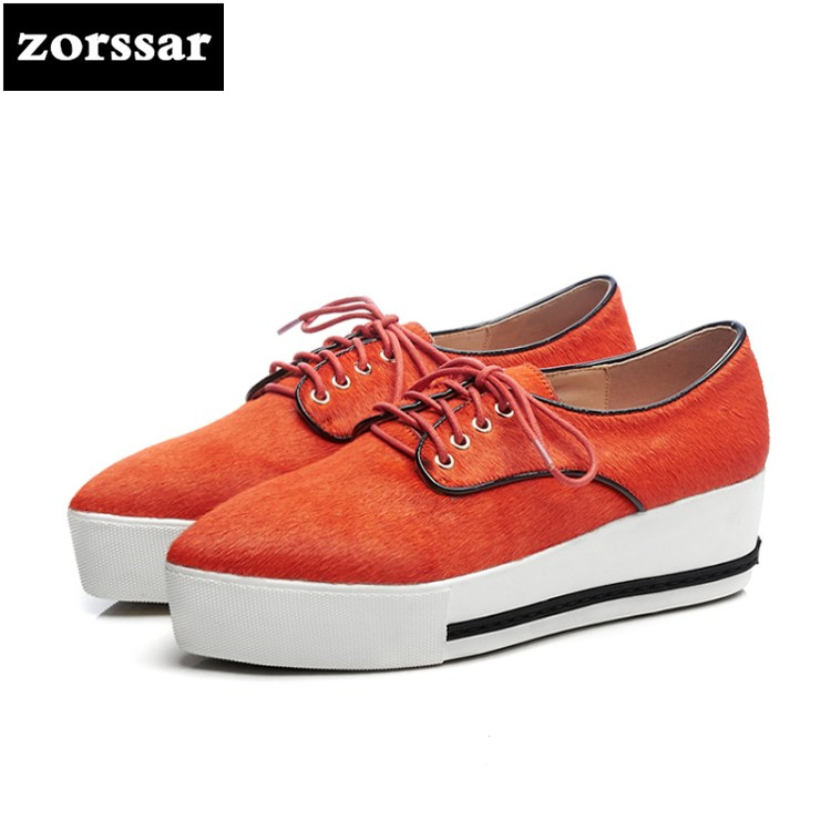 {Zorssar} 2018 Fashion horsehair women flat platform Loafers Casual Female shoes Flats Pointed toe Shoes Ladies platform shoes women flat platform loafers shoes 2018 new brand women leather casual platform shoes for ladies new fashion flats shoes women