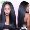 10A Top Quality Glueless Yaki Full Lace Wigs Human Hair For Black Women Virgin Brazilian Italian Yaki Wig Yaki Lace Front Wigs