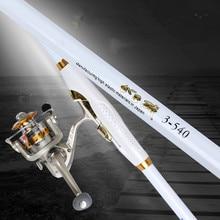 Rock Fishing Rod Carbon Distance Throwing Fishing Pole Super Hard Locatable Telescopic Canne a Peche De Pecsa Fishing Tackle Set цена