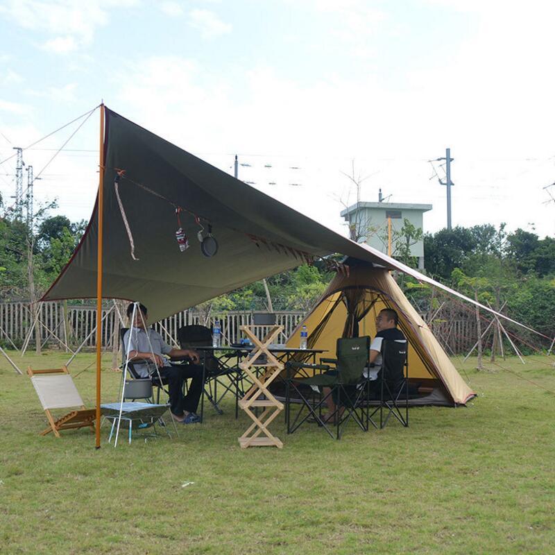€ 149.83 20% de réduction|Grande tente de Camping 4 6 personnes yourte  Double couche avec moustiquaire jardin extérieur pique nique fête pêche  famille ...