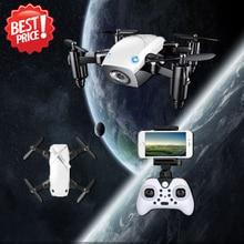 S9 S9W складной Радиоуправляемый мини-Дрон Карманный Дрон микро-Дрон вертолет Квадрокоптер с HD Камера Wi-Fi FPV