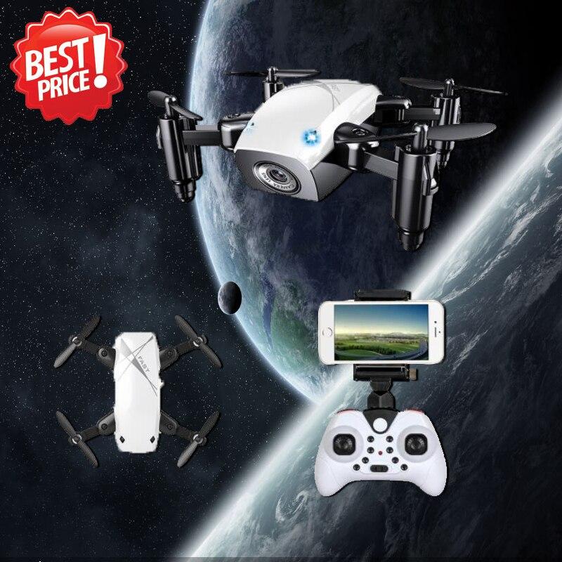 S9 S9W plegable RC Mini Drone bolsillo Micro Drone RC helicóptero con giroscopio con HD Cámara Wifi FPV
