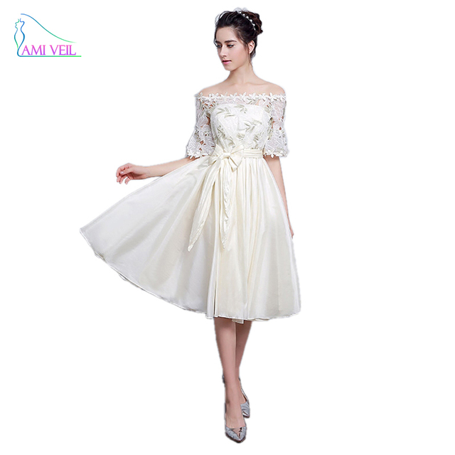 Elegant Prom Dresses Short Formal Evening Gowns Tea length Imported ...