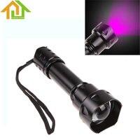 Outdoor Hunting UF T20 Infrared IR 850nm LED Flashlight Torch Night Vision Aluminum LED Flash Light