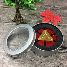 Toys Hobbies - Stress Relief Toy - Hand Spinner Iron Man EDC Tri-Spinner Fidget Toys Metal Red Fidget Spinner ADHD Adults Kids Children Educationa DIY Toys Hobbies