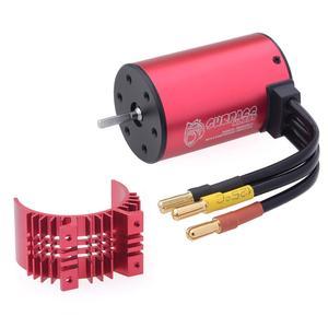 Image 5 - Surpasshobby kk 방수 콤보 3660 5.0mm 1750kv 2200kv 2600kv 3100kv 3300kv 3500kv 브러시리스 모터 (방열판 포함) 80a esc