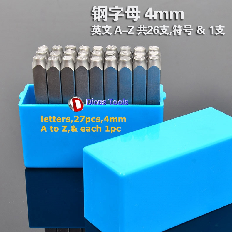 27pcs 4mm height letters stamp dies seal tools punch mold from A to A and & alliluyeva s twenty letters to a friend a memoir