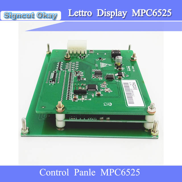 US $90 0 |Free Shipping Leetro MPC6525 Control panel Leetro DSP support  Lasercut software for CO2 laser cutting machine Spare panel-in Woodworking