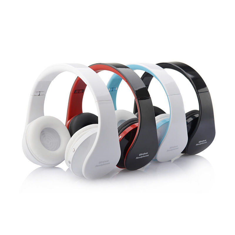 BGreen Foldable Folding Bluetooth Stereo Earphone Wireless Headphone Headset For iPhone Galaxy HTC Laptop With Mic Microphone broadcore bluetooth headphones music earphone stereo foldable headset tf card with mic microphone for iphone 6s galaxy 30dec8