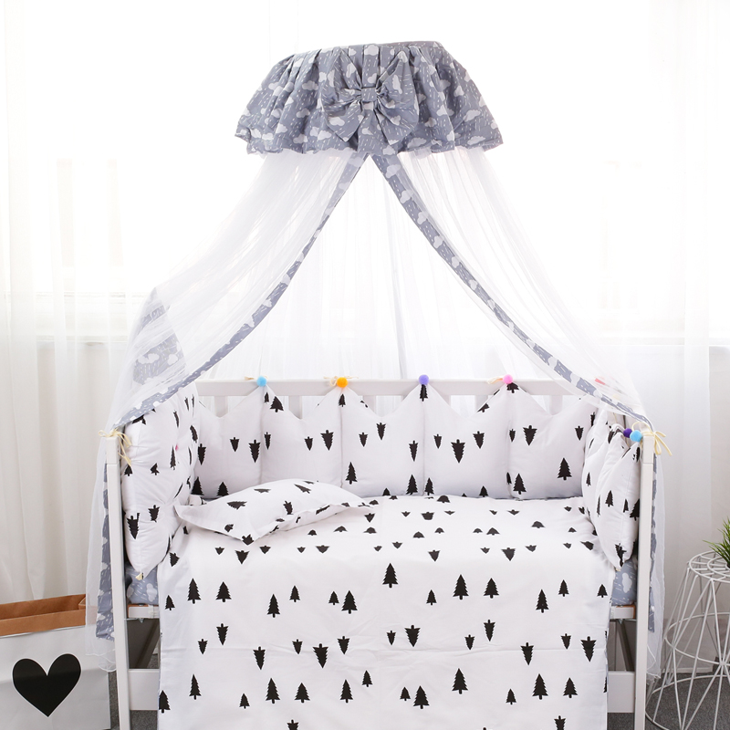 Baby Bedding Summer Mosquito Net Baby Crib Netting Toddler Infant Tents Princess Mosquito Mesh for Toddler Crib Cot coloful baby bed curtain kamimi children room decoration crib netting baby tent cotton hung dome baby mosquito net photography props