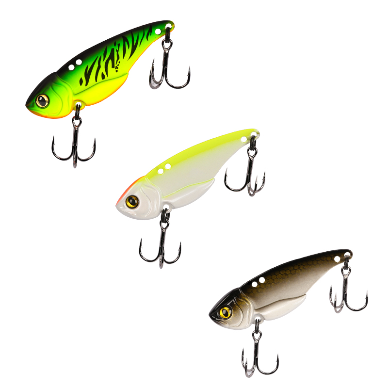 Trulinoya The Time brand crank metal vibration lures fishing vib lure 5g 7g 10g 15g sinking artificial vibrator bass bait