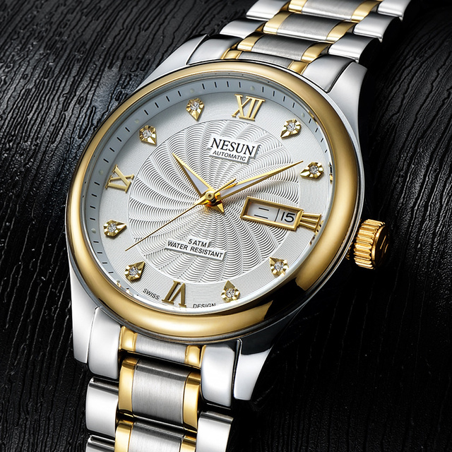 Swiss Made NESUN Luxury Watch Automatic Self-winding 2