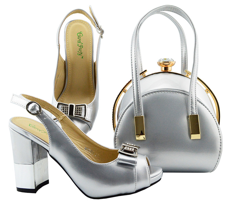 Italian Shoes with Matching Bags for Wedding Women Shoes and Bag to Match for Party Nigerian Shoes and Bag Set Silver color fashion green color shoes and bag to match italian women shoe and bag to match for parties african shoes and bags matching set