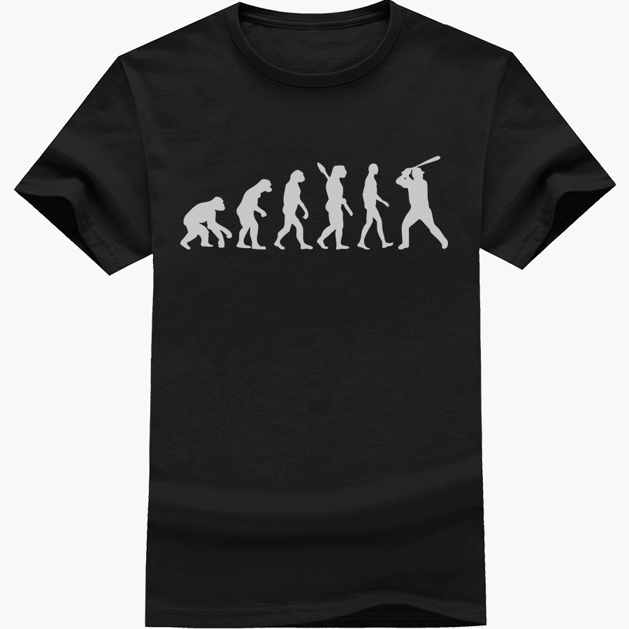 Shirts human design - Uzhome Human Evolution Design Brand Clothing Men S T Shirt The Walking Dead Printed T Shirt Short Sleeve Tops Camiseta Hombres