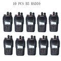 10 PCS Baofeng UV-B5 5W 99CH UHF+VHF HF Transceiver Ham Radio Transceiver Portable Two Way Radio / Earpice As Gift
