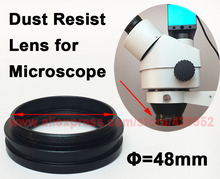 Best Buy Auxiliary 1x Objective Lens 48mm For Industry Digital Binocular Trinocular Stereo Microscope Protective Dust Resist