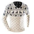 2016 de alta qualidade outono inverno moda camisola dos homens pullover camisola dos homens da marca de roupas casuais Camisolas Malhas Natal
