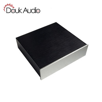 Douk Audio Preamplifier/Tube Amp Chassis Aluminum Enclosure Blank Case DIY House