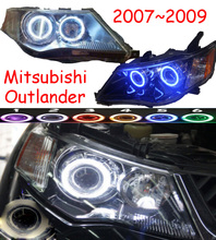 HID, 2007 ~ 2009/2010 ~ 2012, Auto Styling, Outlander Koplamp, Endeavor, ASX, Expo, eclipse, verada, pajero, Triton, Outlander hoofd lamp
