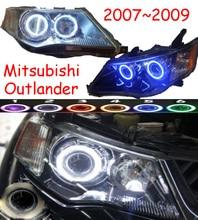 HID,2007~2009/2010~2012,Car Styling,Outlander Headlight,Endeavor,ASX,Expo,Eclipse,verada,pajero,Triton,Outlander head lamp