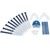 Professional Teeth Whitening Dental Bleaching Set Tooth Whitener Dental Trays Dental Light Health Care Home Kit