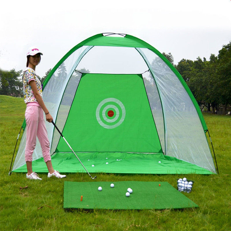 200x120x135cm Golf Practice Net Foldable Golf Hitting Cage