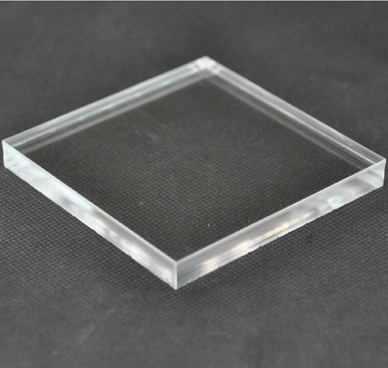 1x100x100mm 10pcs Acrylic Plexiglass Clear Sheet Plastic Transpenr Board Perspex Panel PMMA sheet