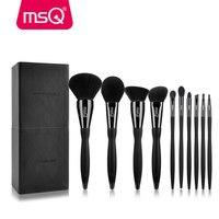 Professional 10pcs Makeup Brushes Set Eye Shadow Foundation Eyebrow Lip Brush Makeup Brushes With Box Cosmetic