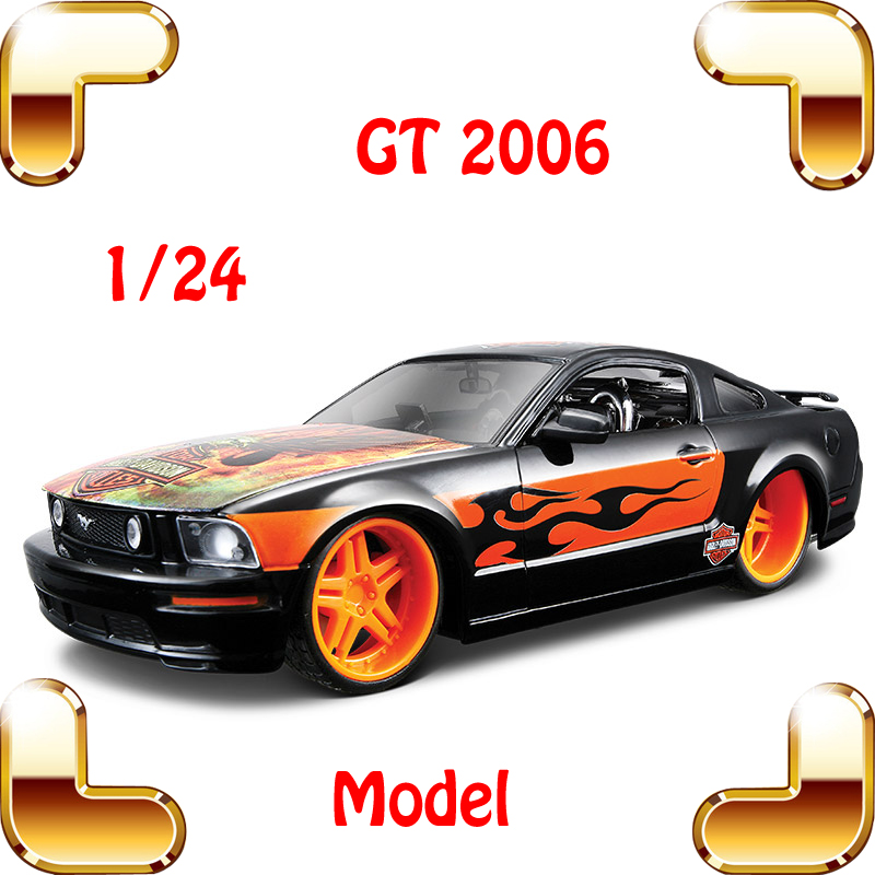 Limited Gift GT2006 1/24 Metal Model Car Vehicle Mini Die-cast Collection Toys Boys Favour Present House Decoration Alloy Scale стоимость