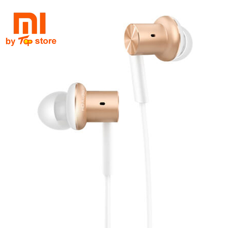 Original Xiaomi xiomi Mi Hybrid Earphone 1More design In-Ear Multi-unit Piston headset HiFi For smart mobile phone fon de ouvido original senfer dt2 ie800 dynamic with 2ba hybrid drive in ear earphone ceramic hifi earphone earbuds with mmcx interface