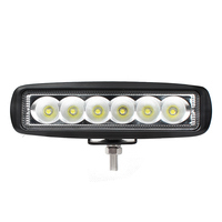 2pcs 6 Inch 18W LED Work Light Mini Light Bar DRL For Indicators Motorcycle Driving Offroad