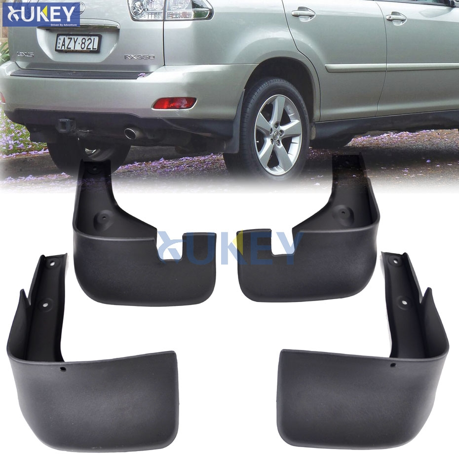 For Lexus RX RX330 RX350 RX400h 2004 2009 Mudflaps Splash Guards Mud Flap Mudguards Fender 2005