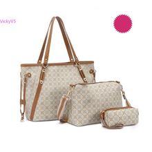 Elegance bag fashion women's handbag Shoulder Bag set tote for Ladies Purse Wallet Three piece set VY 17669