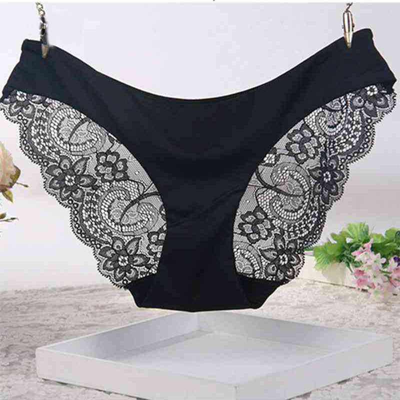 Underwear Women Summer Style Calcinha Brand Ultra-Thin Sexy Seamless Briefs Lace   Panties   Ropa Interior Mujer Culotte Femme Thong