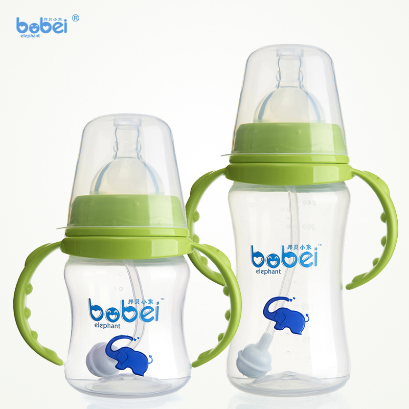 2 Pcs Safety Feeding Bottle Handles  Wide Mouth Feeding Milk Bottle Supply