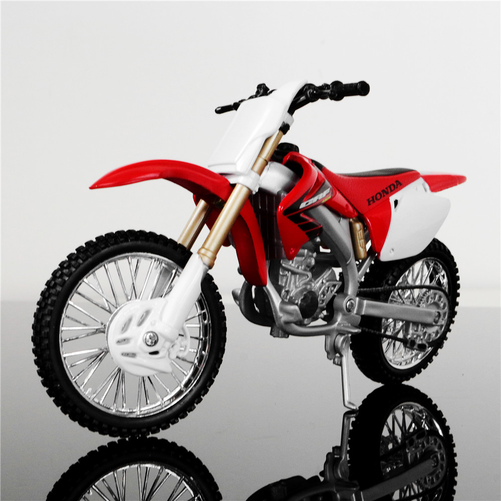 MAISTO 112 Brand Kids Mini Motorcycle HONDA CRF450R Diecast Model Motor Bike Miniature Metal Models Race Toys Collectibles In Diecasts Toy Vehicles From