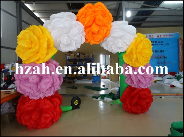 Colorful Inflatable Entrance Archway Advertising ao058m 2m hot selling inflatable advertising helium balloon ball pvc helium balioon inflatable sphere sky balloon for sale
