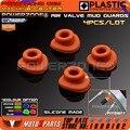 Orange Силиконовая Воздушный Клапан Грязи Охранников Рот Шайбы Прокладка Для KTM EXC EXCF SX SXF XCW XC XCF CRF YZF KXF Мотоцикла Байк