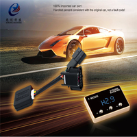 Auto electronic Throttle controller pedal commander for Greatwall Haval H7 H11 led display 7 drive Car strong booster speed up