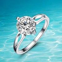 Gorący styl!!! 925 czysta sliver pierścień; kobiety 925 srebrny pierścień; Cyrkon pierścień oryginalna biżuteria srebrna; Nowe projektowanie mody;