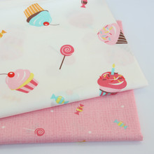 100%  Cotton Bed Sheet fabric Kids cloth for DIY Sewing Quilting Fat Quarters Material For Baby&Child