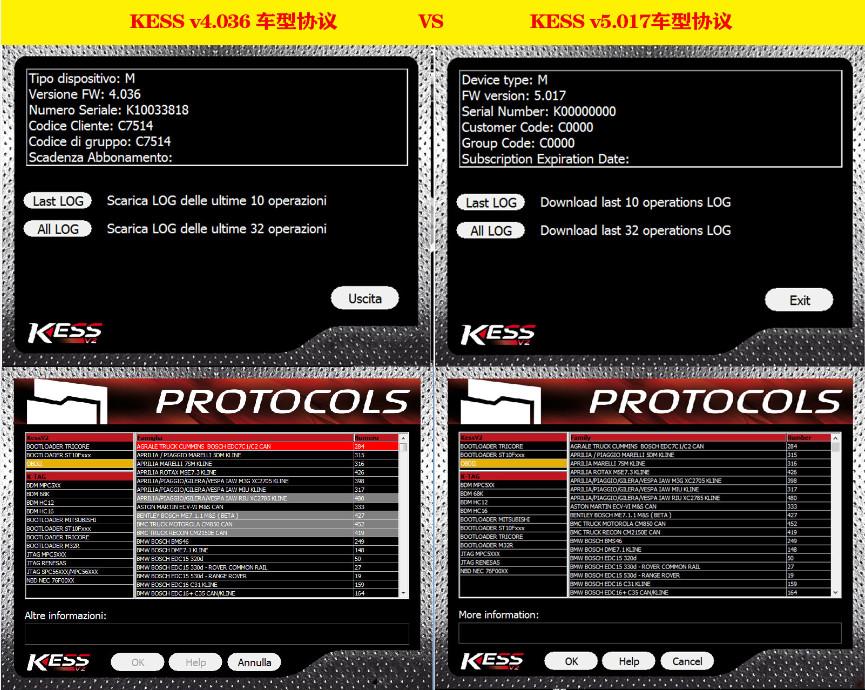 Kess FW V5.017 V2.23 with Red PCB (1)