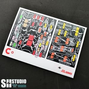 Image 3 - SH スタジオ MG 1/100 シナンジュ Xinanzhou ガンダム特殊金属エッチングシートアクションフィギュアモデル詳細修正修理