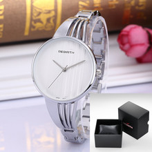 New REBIRTH Bracelet Watches for Lady Fashion Dress Gold Charming Chain Style Jewelry Quartz Women Watch relogio feminino clock