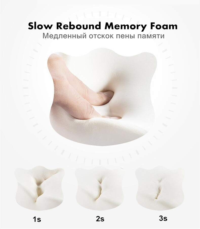 HTB1bVpLbBOD3KVjSZFFq6An9pXaB PurenLatex Memory Foam Caudal Vertebra Protect Orthopedic Chair Pillow Coccyx Cushion Pad Car Seat Mats Prevent Hemorrhoid Treat