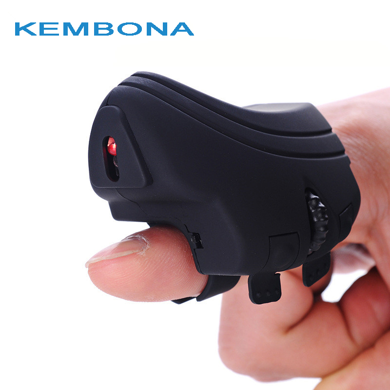 KEMBONA 2.4Ghz Wireless Mice USB Finger Wireless Mouse Optical Rechargeable Finger Ring Mouse Mice For PC Laptop Computer